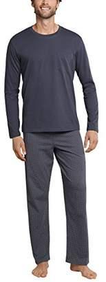 Schiesser Men's Anzug Lang Pyjama Bottoms,(Size: 046)