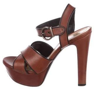 Barbara Bui Crossover Platform Sandals