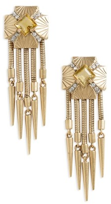 Women's Loren Hope Hazel Drop Earrings $228 thestylecure.com