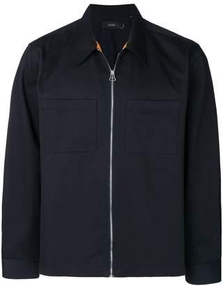 Joseph patch pockets shirt jacket
