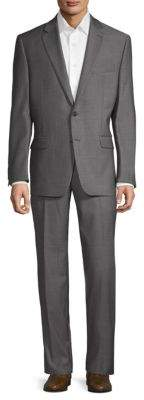 Lauren Ralph Lauren Birdseye Slim-Fit Wool Suit