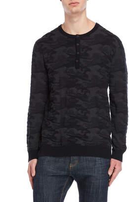 DKNY Camo Jacquard Sweater