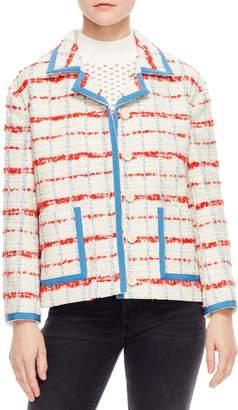 Sandro Idaline Tweed Crop Jacket