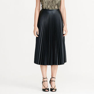 Ralph Lauren Pleated Midi Skirt $165 thestylecure.com