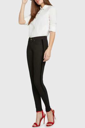 Principle Denim Dreamer Velvet Tuxedo Stripe Jean