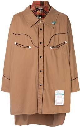 Puma Maison Yasuhiro snap button closure shirt jacket