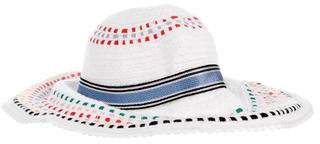 Missoni Mare Knit Wide-Brim Hat