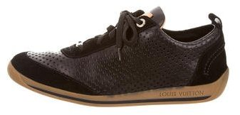 Louis Vuitton Perforated Low-Top Sneakers