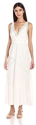Max Studio Women's Sleeveless Lace Maxi Dress, Off