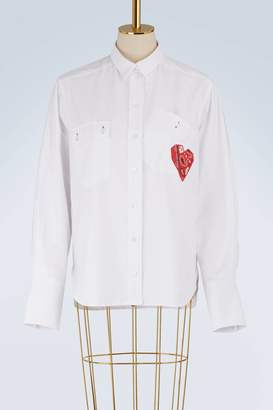 MAISON KITSUNÉ Cotton Verona shirt