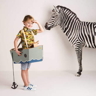 Mister Tody Imagination Cardboard Boat Costume