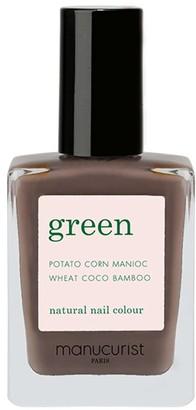 Manucurist Green Nail Lacquer - Dark Wood