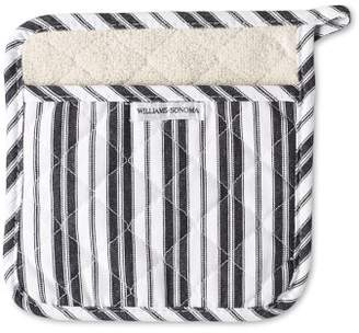 Williams-Sonoma Williams Sonoma Striped Potholder, Black