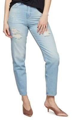 Miss Selfridge Distressed Boyfriend Jeans