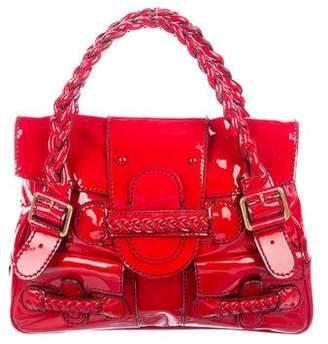 Valentino Histoire Patent Leather Bag