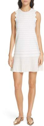 Ted Baker Relioa Metallic Jacquard Knit Dress