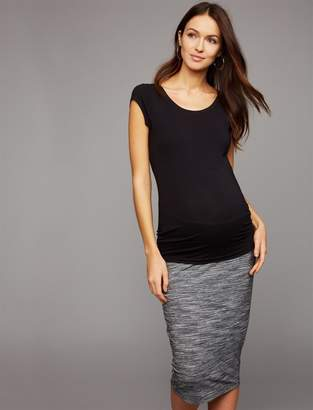 53f69fd525d A Pea in the Pod Spacedye Knit Maternity Pencil Skirt