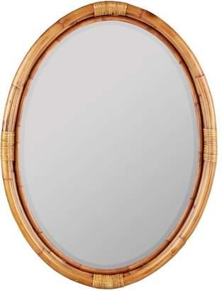 Pottery Barn Westport Bamboo Mirror