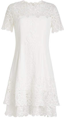 Jonathan Simkhai Mini Dress with Lace