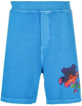 DSQUARED2 Hawaiian shorts