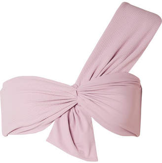 Marysia Swim Venice One-shoulder Bikini Top - Lilac