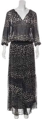 BA&SH Printed Maxi Dress