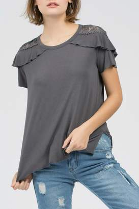 POL Charcoal Top