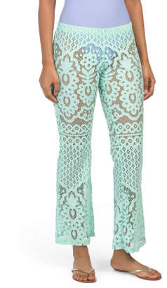 Lace Swimwear Cover-up Pants