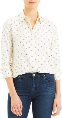 309eb0809d706b Theory Vintage Dot Classic Button-Down Shirt
