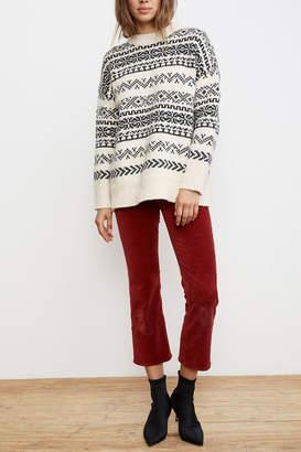 Velvet Yetta Fairisle Sweater