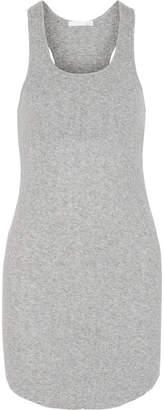 Skin - Ribbed Pima Cotton Chemise - Gray
