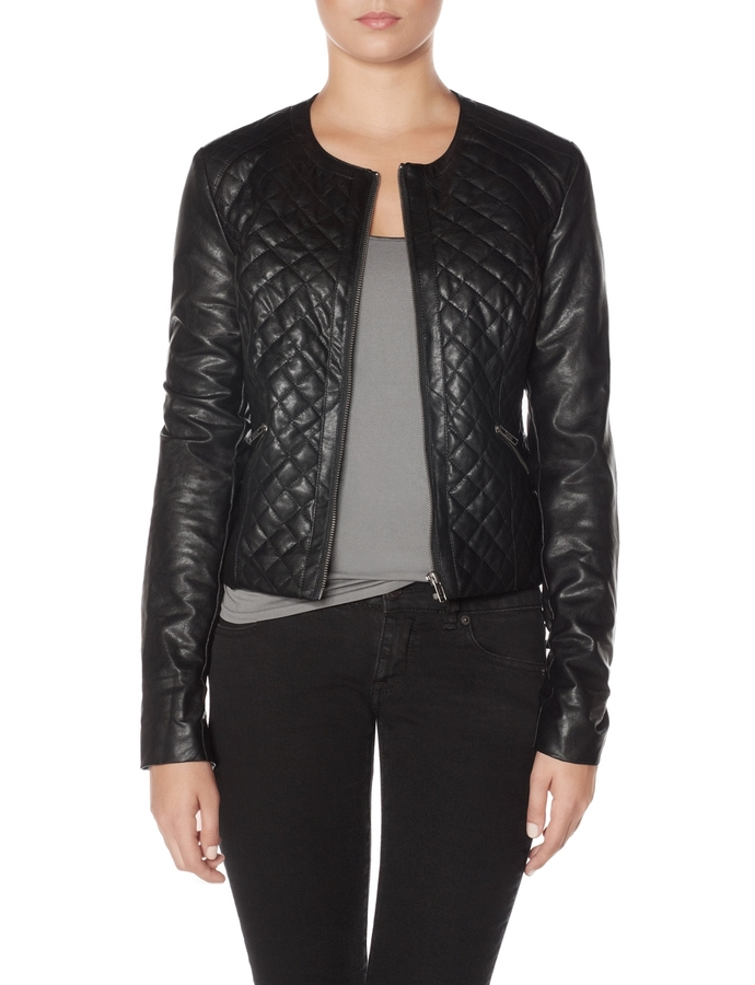 The Limited Quilted Motorcycle Jacket