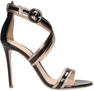 Lerre Black Platimun Sandals