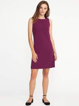 Sleeveless Ponte-Knit Shift Dress for Women $16.50 thestylecure.com