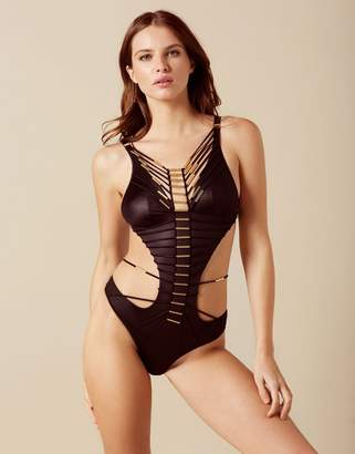 Agent Provocateur Harley Swimsuit Black