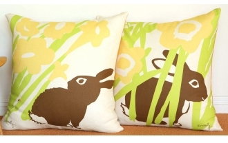 Pin It Amenity Nursery - Meadow Floor Pillows