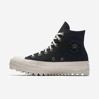 Converse Chuck Taylor All Star Lift Ripple Precious Metal High Top Womens Shoe
