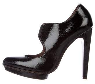 Marni Patent Leather Pointed-Toe Pumps