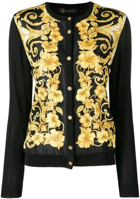 Versace slim cardigan