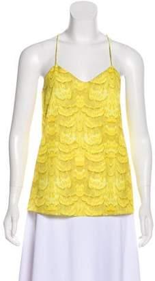 Tibi Printed Sleeveless Top