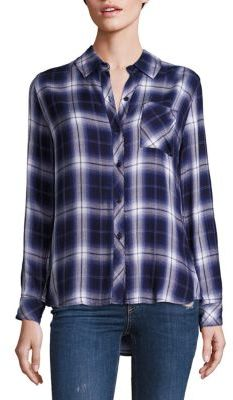 Rails Hunter Plaid Shirt $148 thestylecure.com