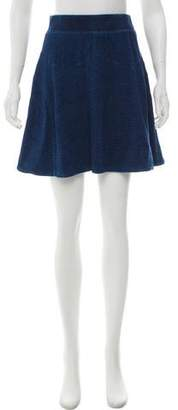 Marc by Marc Jacobs A-Line Mini Skirt