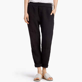 James Perse Canvas Linen Patched Pant