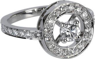 Boucheron Ava 18ct white-gold and diamond ring