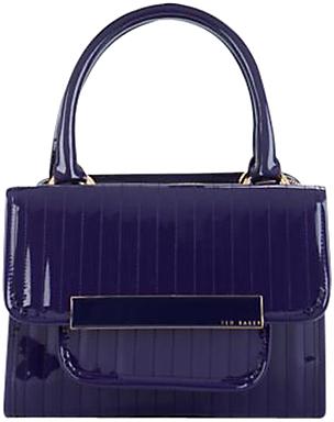 Ted Baker Willo Mini Bowler Handbag, Purple