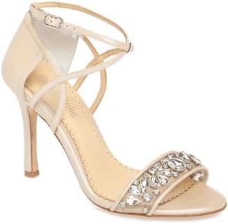 Bella Belle Filipa Embellished Ankle Strap Sandal