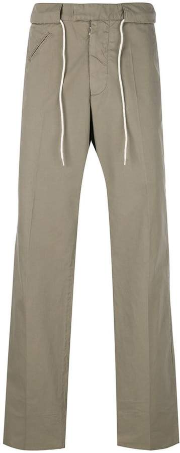woven drawstring trousers