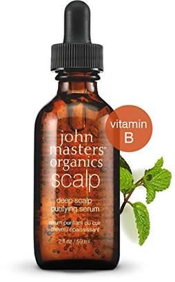 John Masters Organics Deep Scalp Purifying Serum - Nourishing Cleanser with Essential Oils