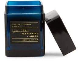 Peppermint & Amber Candle