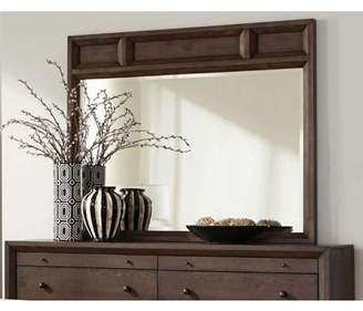 Coaster Company Bingham Retro-Modern Mirror, Brown Oak